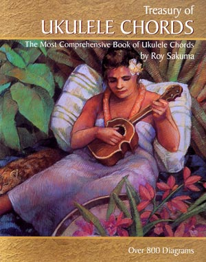 Book - Roy Sakuma's Treasury of Ukulele Chords (77880)