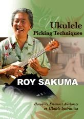 DVD - Ukulele Picking Techniques Roy Sakuma (RSDVD2010)
