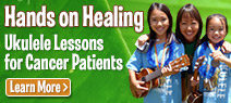 Hands on Healing - Ukulele Lessons for Cancer Patients