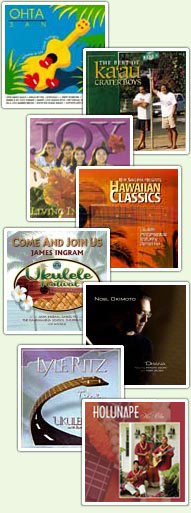 Hawaiian CD Covers and Artists